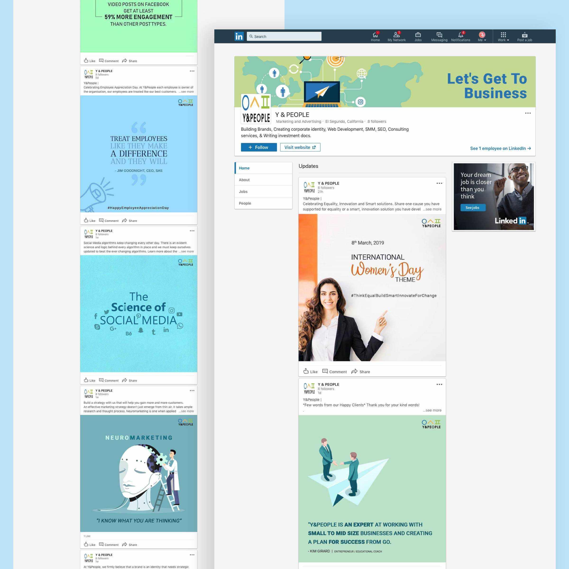 Y People linkedin - Y&People Linkedin