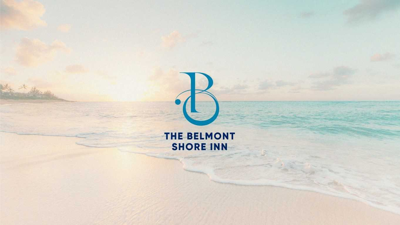 The Belmont Shore Inn Logo - Y & People Communication Branding Portfolio
